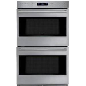 Wolf E Series 30 Inch SS Double Electric Dual Convection Wall Oven DO30PESPH