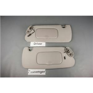 04-08 Dodge Durango 07-09 Aspen Sun Visor Set with Lighted Mirrors & Adjust Bars