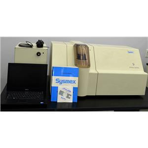 Sysmex Malvern FPIA 3000 Flow Particle Analyzer w/ Pneumatic Unit Laptop & Soft