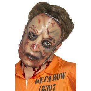 Smiffy's Zombie Horror Flesh Face Adult Costume Mask