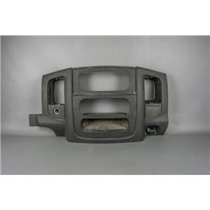 2002-2005 Dodge Ram 1500 2500 Radio Climate Dash Trim Bezel with 12V Outlet