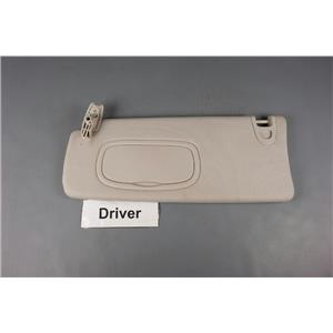 2013-2015 Dodge Dart Sun Visor Driver Side with Covered Mirror and Adjust Bar
