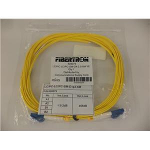 Communications Supply Corp 808079 FIBERTRON 5M Fiber Optic Cable - SEALED