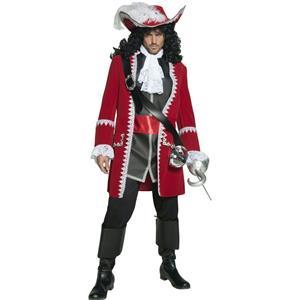 Smiffy's Men's Authentic Pirate Captain Adult Costume Medium