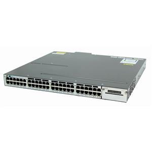 Cisco WS-C3750X-48PF-S Catalyst C3750X 48-Ports 10/100/1000 PoE+ with 1100W AC