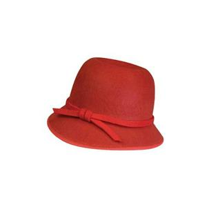 Red Flapper Hat Roaring 20's Accessory