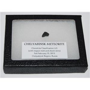 CHELYABINSK METEORITE Chondrite 2013 Russian Fall 0.6 gram plus COA SDB #2511 6o