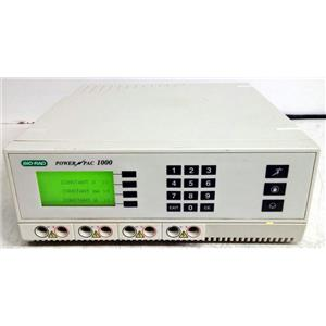 BIO-RAD POWERPAC 1000 PROGRAMMABLE ELECTROPHORESIS POWER SUPPLY 1000V 500mA
