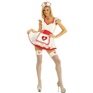 Forum Novelties Women's Hospital Honey Sexy Adult Nurse Costume Size M/L 8-12