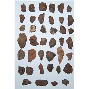 MOROCCAN Stony METEORITE Chondrite Lot 345 grams total (11.5 ounces) #2593 15o