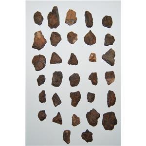 MOROCCAN Stony METEORITE Chondrite Lot 290 grams total (9.7 ounces) #2594 13o