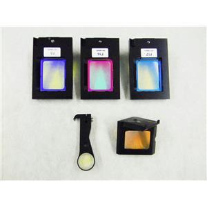 Five Assorted Color Filters for Illumina HiSeq 2000 Genome Sequencing Machine