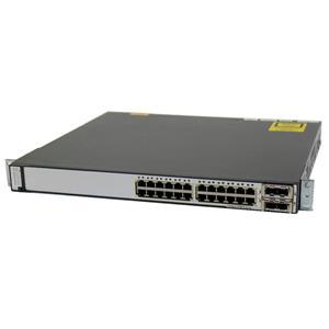 Cisco WS-C3750E-24TD-E Catalyst 3750E 24-Ports 10/100/1000 2 X2 SFP Switch