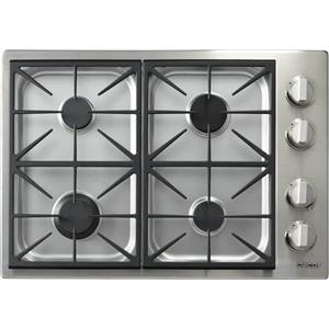 Dacor Discovery DYCT304GSNG 30 Inch 4 Sealed Burners Gas Cooktop Images