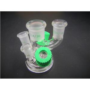 Chemglass 6-Neck Reaction Vessel Lid Laboratory Glassware GSK-0301-221JS