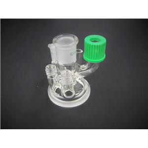 Chemglass 6-Neck Reaction Vessel Lid Compatible for Mettler MultiMax