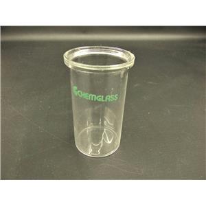 Chemglass Custom Flat Bottom Reaction Vessel  Laboratory Glassware