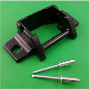 Dometic A&E 3310811009U Awning Lower Arm Bracket Black Foot Assy