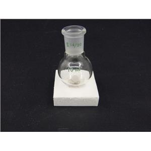 Chemglass CG-1506-82 10 mL Single Neck RB Flask 14/20 Outer Joint (4)