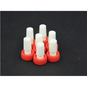 Safe-Lab Flask Length PTFE Stoppers w/ Extraction Nut CG-3019 (Lot of 7)