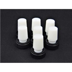 Safe-Lab Flask Length PTFE Stoppers w/ Extraction Nut #CG-3019 (Lot of 7)