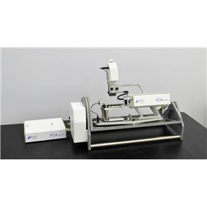 AST VCA Optima Video Contact Angle w/ Tilt Base Droplet Surface Inspection
