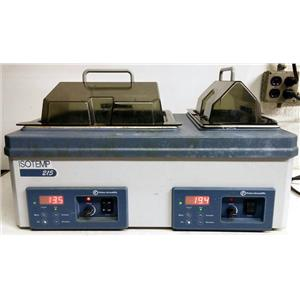 FISHER ISOTEMP 215 DOUBLE CHAMBER DIGITAL WATER BATH 15-462-15