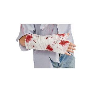 Bloody Arm Bandage Zombie Costume Accessory Gag Joke Prank Prop
