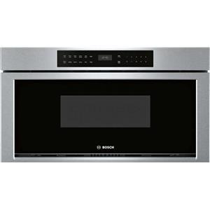 Bosch 800 Series 30 Inches 950 Watt Touch Control Microwave Drawer HMD8053UC IM