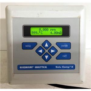 ROSEMOUNT ANALYTICAL SOLU COMP II 1055 AMPEROMETRIC ANALYZER 1055-01-10-24-32