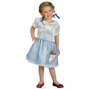 Wizard of Oz Little Girls Dorothy Costume Size Toddler 2-4