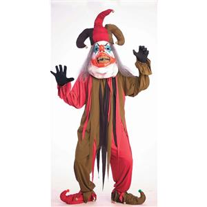 Mega Jester Parade Pleaser Adult Costume Mardi Gras
