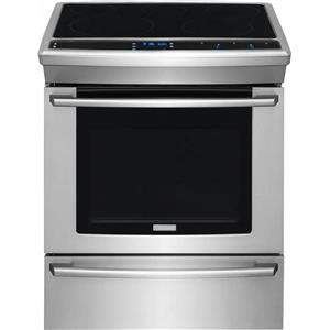 NIB Electrolux Wave-Touch Series 30 Inch Electric Slide-in Range EW30ES80RS