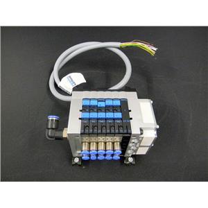 Festo CPV10-VI Valve Terminal w/ CPV10-GE-MP-6 Pneumatic Assembly