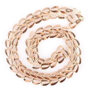 """Traditional 14k Yellow Gold Italian Link Chain 19"""" Length 7.6g"""