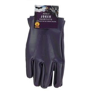 Rubie's Batman Dark Knight The Joker Purple Costume Gloves Gauntlets