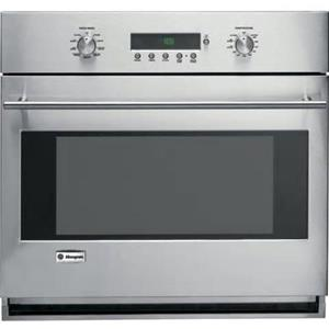 GE Monogram ZET1SMSS 30 Inch 4.4 cu. ft Glide Racks Single Electric Wall Oven