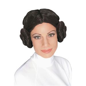 Star Wars Princess Leia Brown Costume Wig