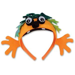 Beistle Pumpkin Halloween Fun Character Creature Headband Costume Accessory