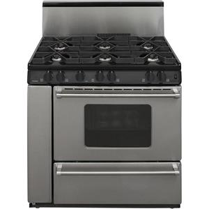 "PREMIER Pro Series P36S3282P 36"" 6 Sealed Burners Freestanding Gas Range"