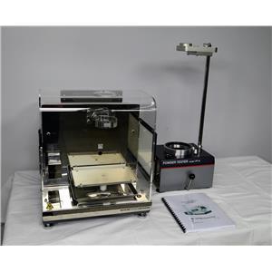 Hosokawa Micron PT-X Powder Characteristics Dispersion Tester Incomplete Carr