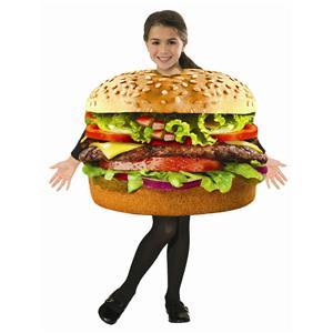 Forum Novelties Childrens Hamburger Foam Tunic Costume