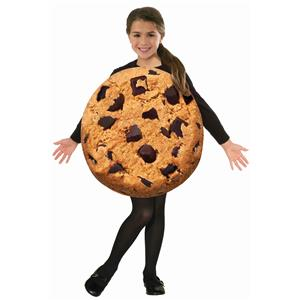 Chocolate Chip Cookie Foam Tunic Child Candy Costume