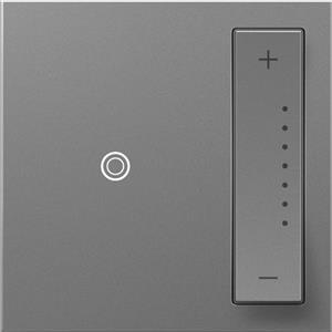 Legrand ADTP703TUM4 adorne Magnesium sofTap Dimmer Switch 700W Tru-Universal