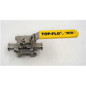 "Top-Line DN20 .75"" Top-Flo Ball Valve 1000 WOG  316 Stainless Steel"