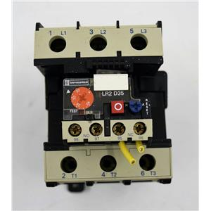 Telemecanique Overload Relay w/DIN Rail f/Toshiba Q-Flowsaver Inverted Drive