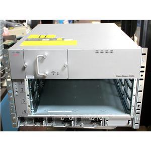 Cisco N7K-C7004 Nexus 7000 Series 4-Slot Chassis w 3x N7K-AC-3KW, N7K-C7004-FAN