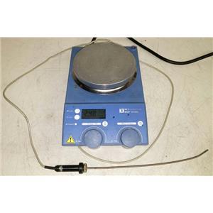 IKA RET control visc RET CONTROL VISC S1 HOTPLATE STIRRER 1100RPM & PROBE