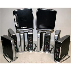Lot-10 HP t5710 PC540A Network PC Thin Client 256/256 Ram/Flash 800MHz Stand PS