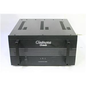 Earthquake Cinenova Grande 3 Three Channel Power Amplifier